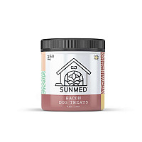 Sunmed CBD Pet Bacon Treats 0% THC 30 count 5mg (150mg)