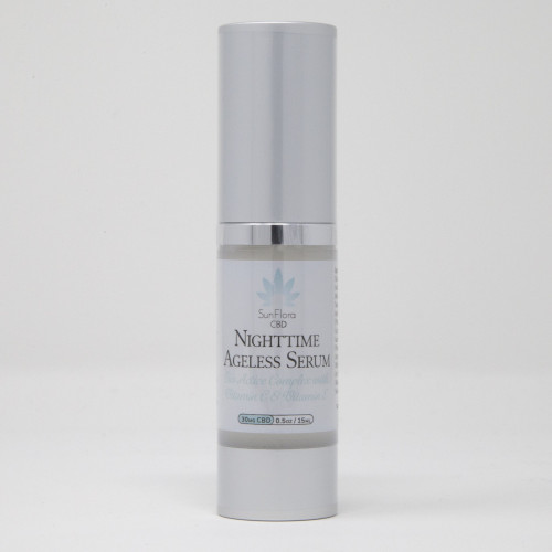 Sunmed CBD Nighttime Ageless Face Serum 30mg