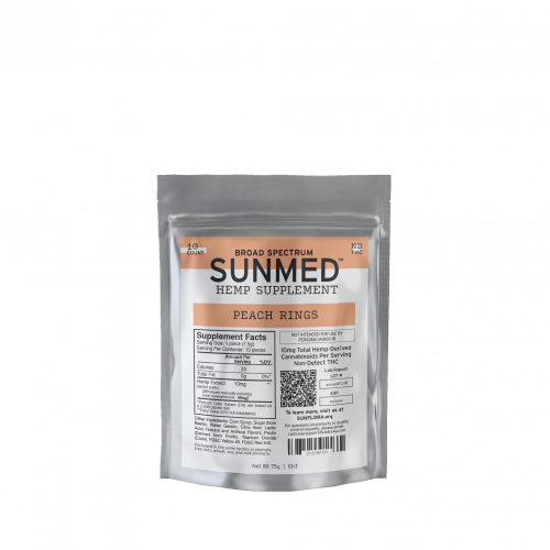 Sunmed CBD Isolate Gummies 0% THC