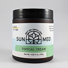 Sunmed CBD Topical Cream - Peppermint